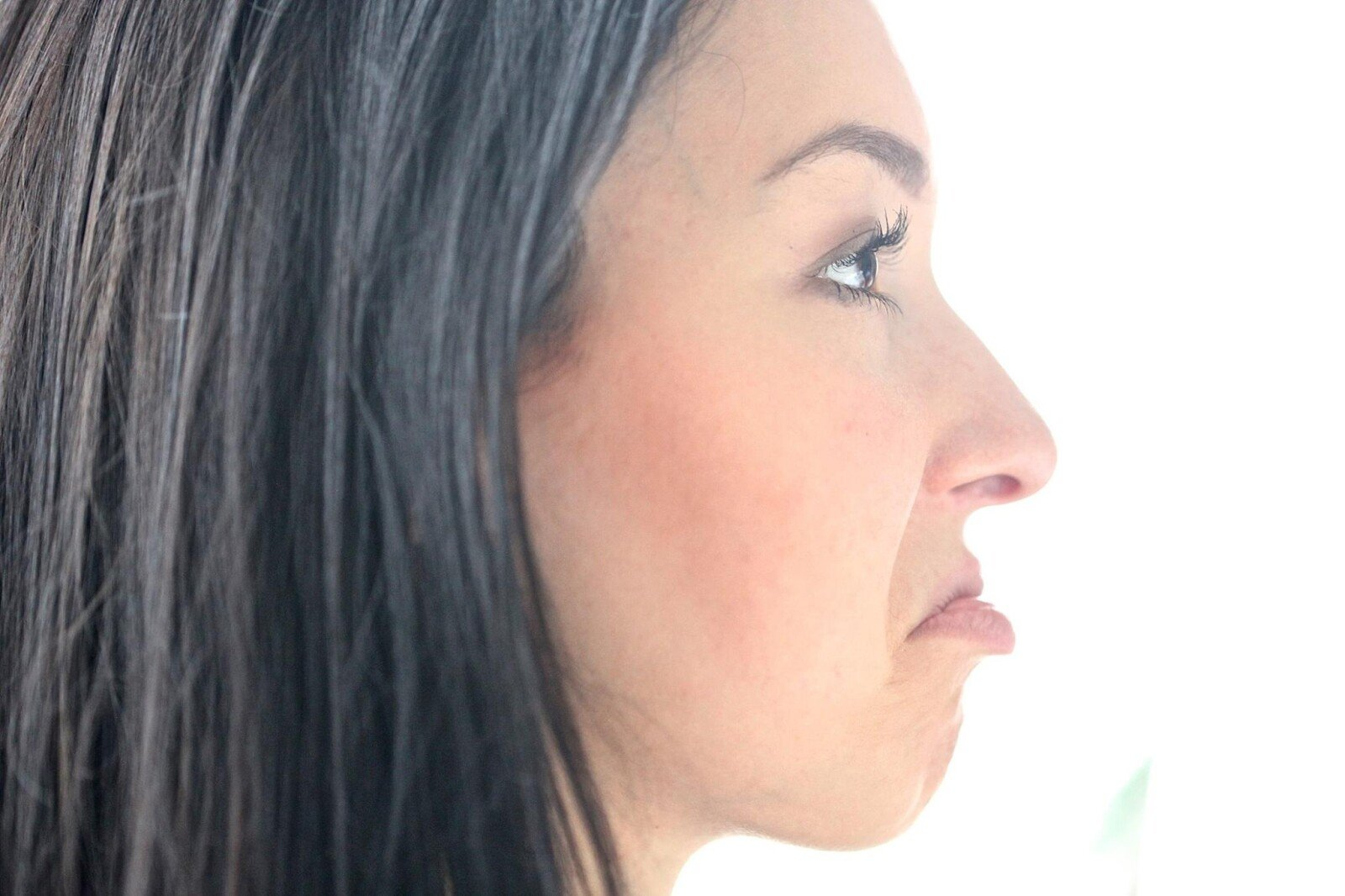 Strengths and weaknesses: Image of a woman pouting